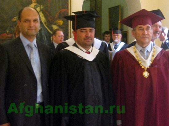 Афганский депутат стал почетным доктором РПГУ Санкт-Петербурга