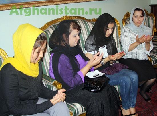 Церемония памяти Ахмад Вали Карзая в Москве