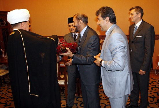 Встреча шейха Равиля Гайнутдина с Азизуллой Карзаем