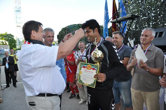 Афганские спортсмены в Крыму