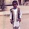 Афганский мальчик в национальной одежде. 1987-1988гг.