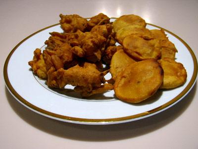 Афганская пакаора  (или картошка в тесте)