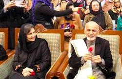 Первая леди Афганистана намерена участвовать в защите прав женщин