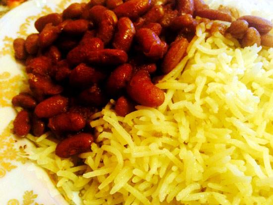 Красная фасоль в соусе «Корме лубя»
