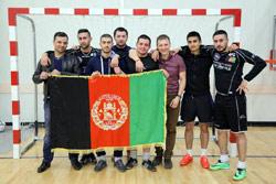 Афганцы заняли первое место на чемпионате по мини-футболу в Санкт-Петербурге