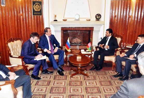 Россия и Афганистан обсудили вопросы сотрудничества в сфере сельского хозяйства