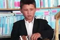 В провинции Балх 13-летний школьник построил мини-экскаватор