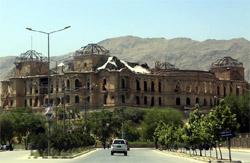 Завершена первая стадия восстановления дворца Дар уль-Аман в Кабуле