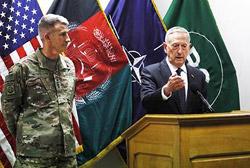Джеймс Мэттис: Политика Москвы на афганском направлении побуждает нас к конфронтации