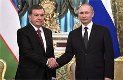 Президенты России и Узбекистана обсудили вопросы афганского урегулирования