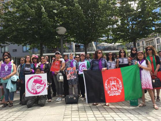 Протесты против гибели демонстрантов в Кабуле распространились за пределы страны