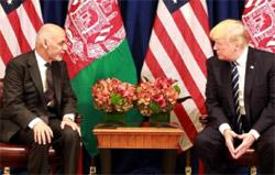 Дональд Трамп и Ашраф Гани обсудили перспективу закрытия представительства «Талибана»