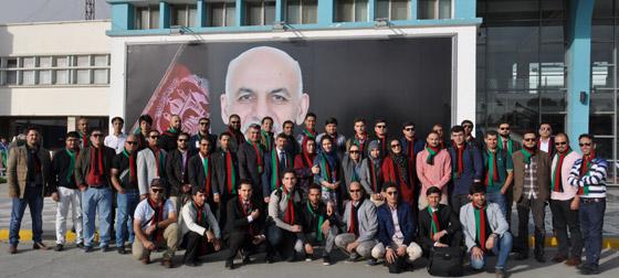 Афганцы  едут  на  XIX всемирный  фестиваль молодежи и студентов в Сочи