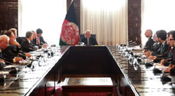 Секретарь Совбеза РФ провёл переговоры с президентом Афганистана