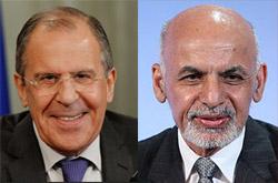 Ашраф Гани и Сергей Лавров договорились о переносе московской встречи