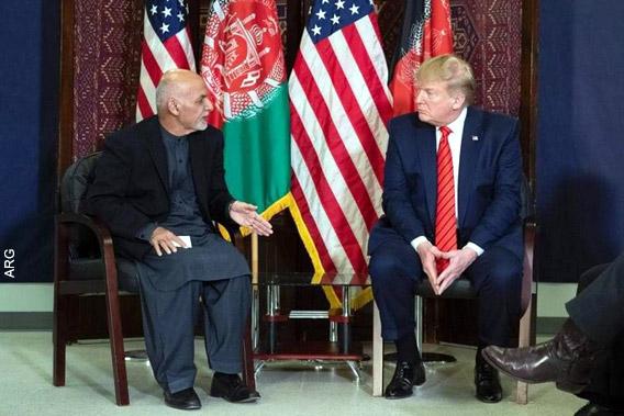 Визит Трампа в Афганистан ударил по Гани