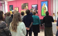 В Татарстане открылась выставка афганского художника Саида Кудбуддина Земара