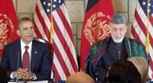 Обама, Карзай