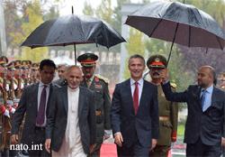 Генсек НАТО в Кабуле