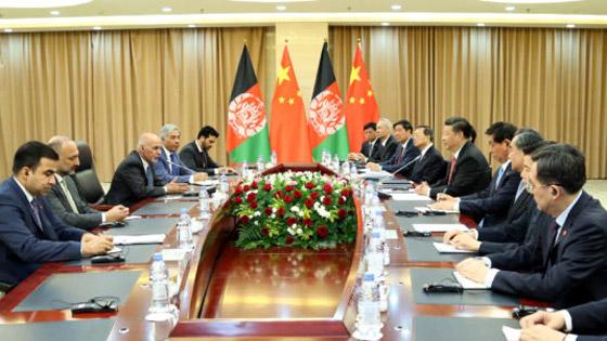 Китай, Афганистан
