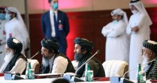 Талибы на переговорах в Дохе