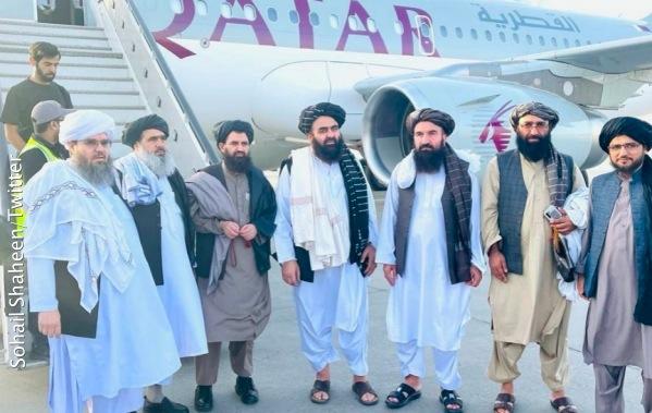 Делегация талибов (запрещены в РФ) в Катаре