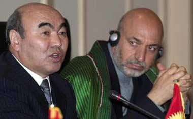 Карзай в Ташкенте