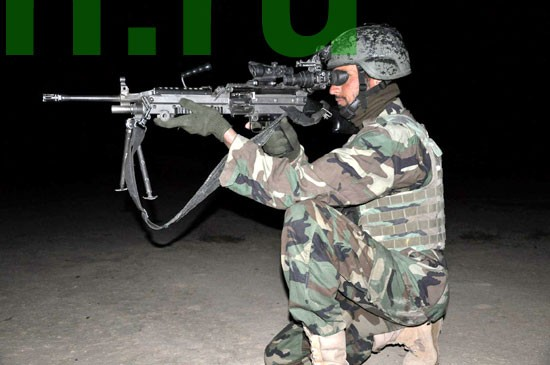 Афганская национальная армия на севере страны