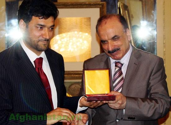 Встреча главы афганского олимпийского комитета с афганцами в Москве