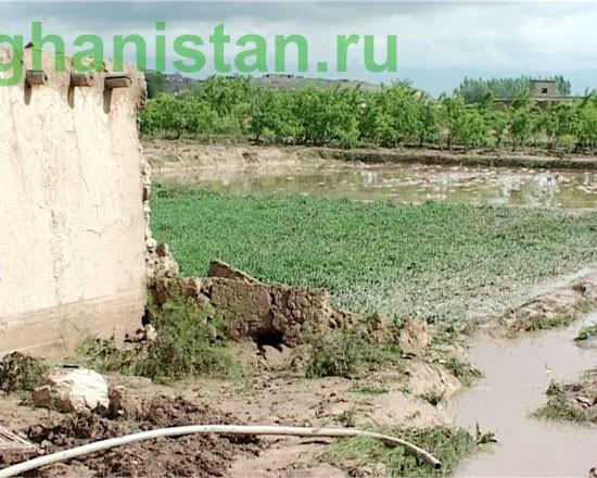 Наводнения на севере Афганистана