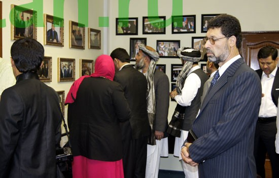 Афганская парламентская делегация в АБЦ