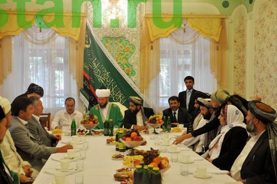 Афганская парламетская делегация в Уфе