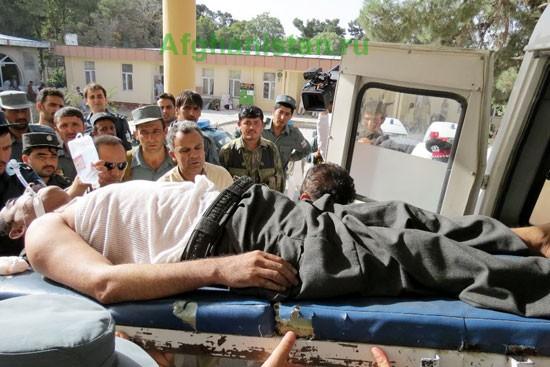 Взрыв в Мазари-Шарифе