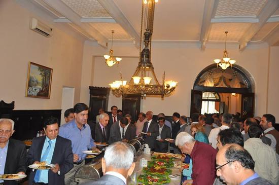 Празднование Ид аль-Фитр в афганском посольстве в Москве