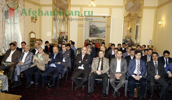 В афганском посольстве чтили память маршала Фахима