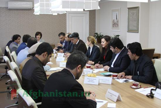 Пресс-тур афганских журналистов (2014)