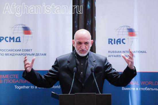 Визит Хамида Карзая в Россию