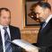 Встреча А.М.Нура с новым генеральным консулом РФ