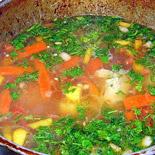 Афганский мясной суп «ШОРБА»