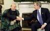 Карзай предостерегает Буша: восстановление Афганистана далеко от завершения