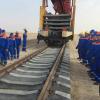 Туркменистан начал строительство участка железной дороги в Афганистане