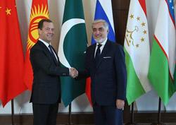 Глава исполнительной власти Афганистана встретился с российским премьером