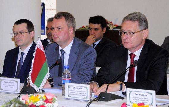 В Кабуле прошло первое заседание афгано-белорусского комитета по торгово-экономическому сотрудничеству