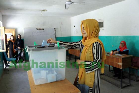 На полях прошедших выборов в Афганистане