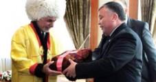 Ашраф Гани в Туркменистане